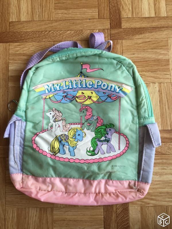 Mon petit poney G1 sac à dos, tapis souris, cubes