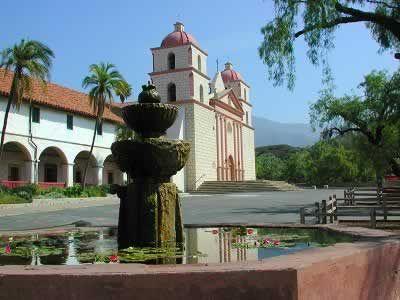 Mission Santa Barbara, Santa Barbara, Ca.