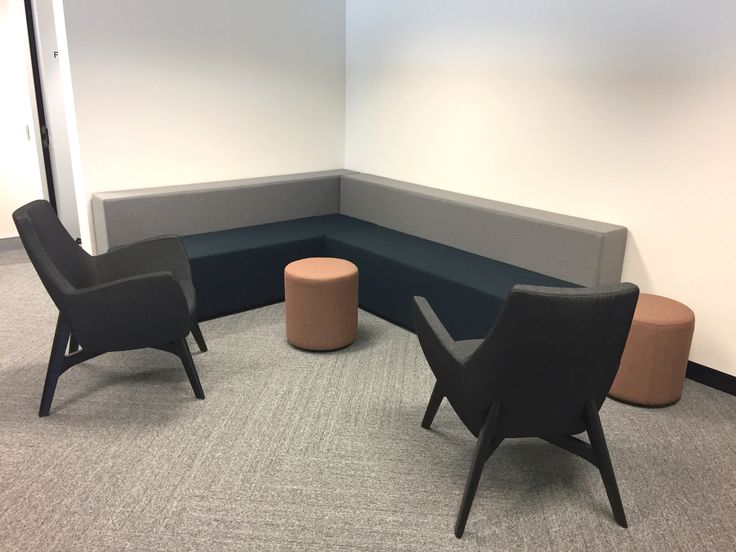 GeersSullivan breakout area fit-out by Burgtec #lounge #furniture #perth #interiors