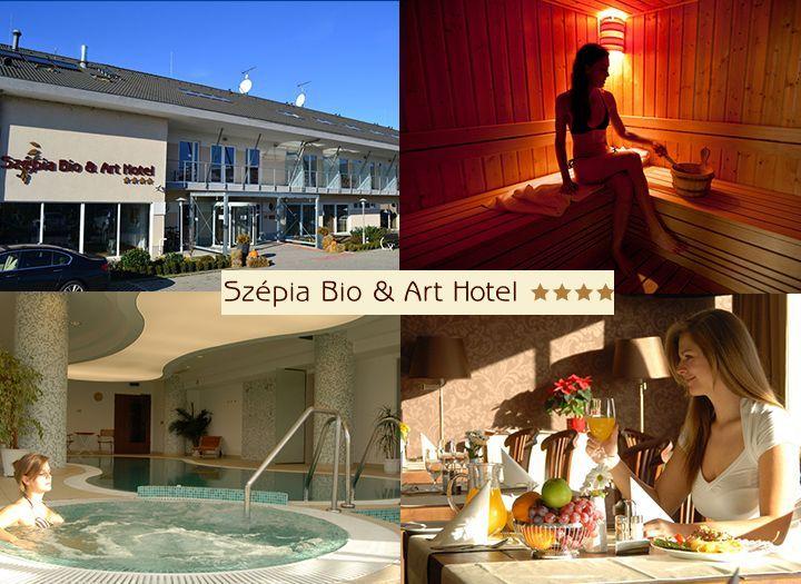 Wellness (pl. masszázs, fürdő belépő) Kupon - 24% kedvezménnyel - Wellness (pl. masszázs, fürdő belépő) - 1 napos program Budapest közelében, akár az egész család számára! Wellness használat + 3 fogásos ebéd 1 fő részére kedvező áron 7 200 Ft helyett 5 500 Ft-ért a Szépia Bio & Art Hotel**** jóvoltából! Most fizetendő: 850 Ft! Egész évben felhasználható!.