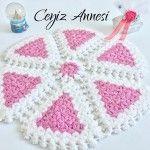 Pasta Dilimi Lif Örneği #crochet  #örgü #lif #lifmodelleri #liförnekleri #washcloth #knit #knitting
