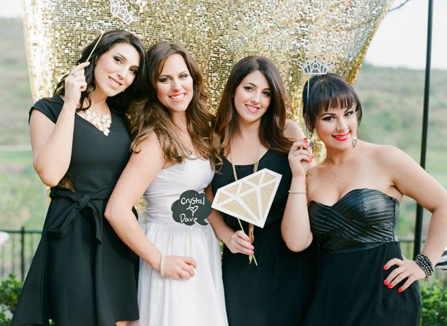 Little black dress themed bridal shower. OH MY GOD! I love this idea! Literally obsessed. Hint hint :)
