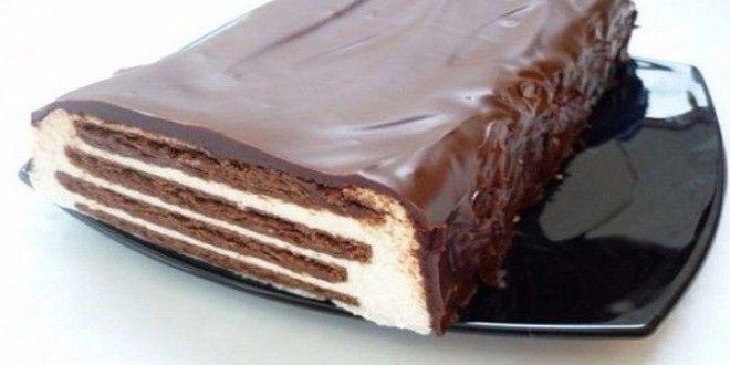 Ингредиенты:  ● Печенье шоколадное – 300 гр. ● Творог – 2 пачки (360гр) ● Сметана – 300-400 гр. ...