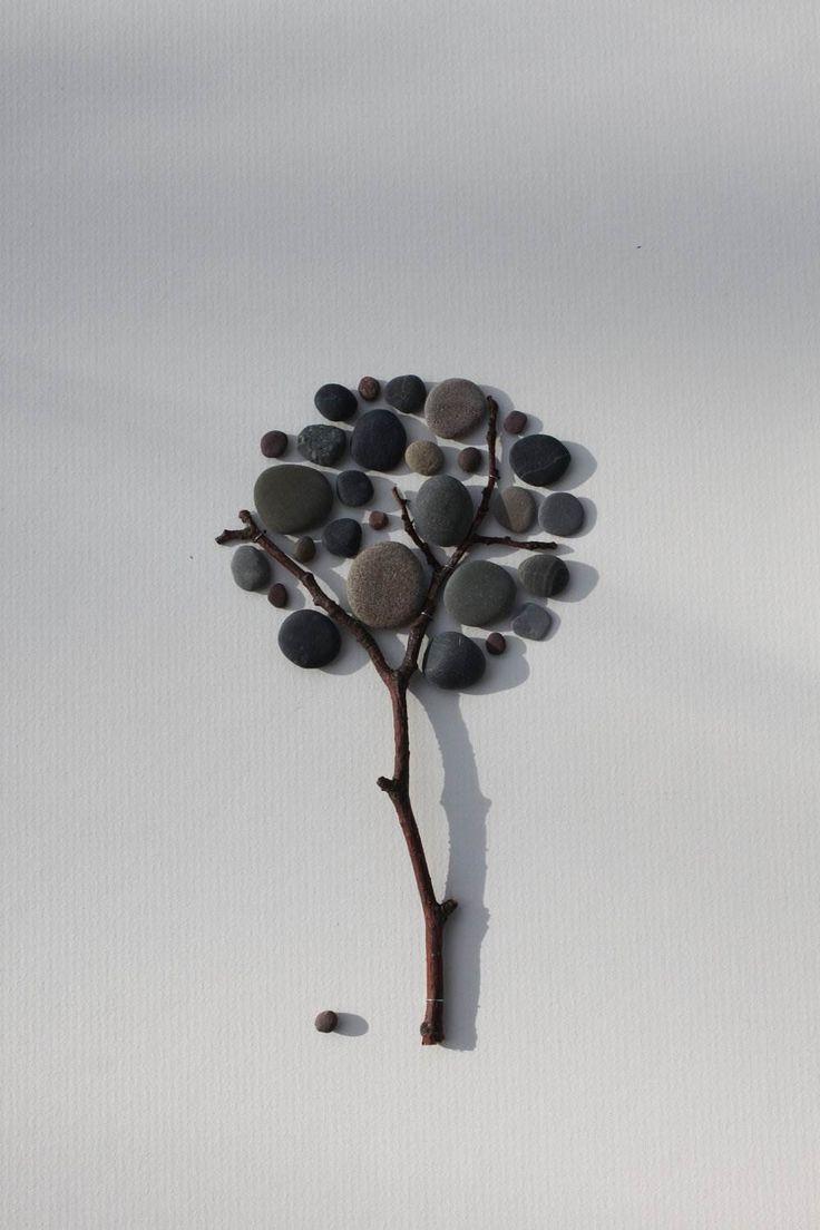 A minimalizmus maximuma. Mesélő művészet: kavicsból kirakott jelenetek | Életszépítők