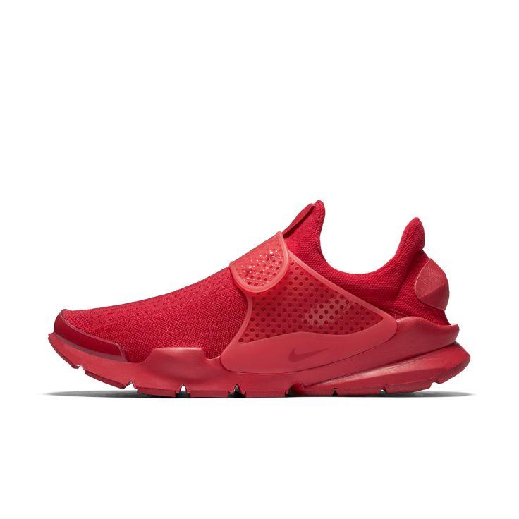 Nike Sock Dart Shoe Size 10 (Red) - Clearance Sale
