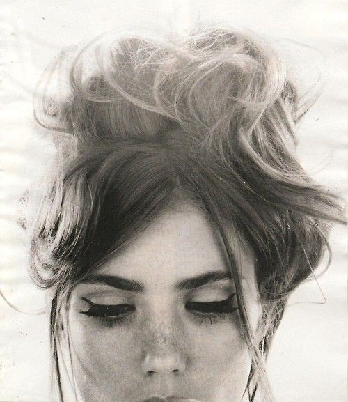 60's inspired. Inspired to get good at doing my eyeliner. Sourced from eat.sleep.wear