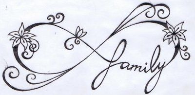 Infinity/Family Tattoo by KariCliche.deviantart.com on @deviantART