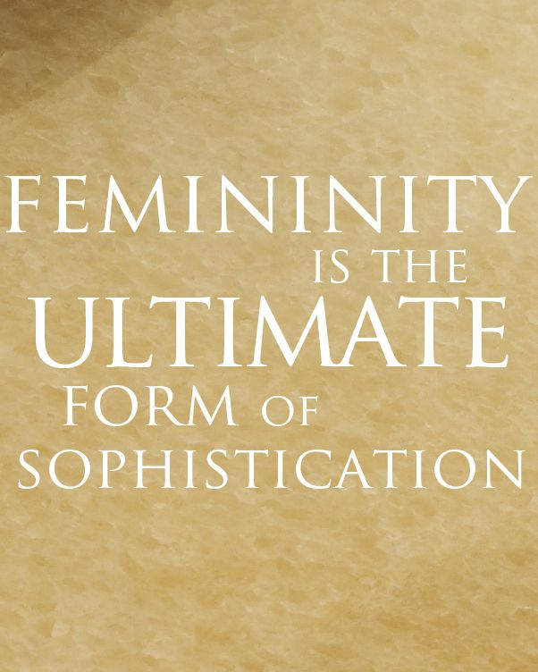 IMPERIALE definition of femininity #Me