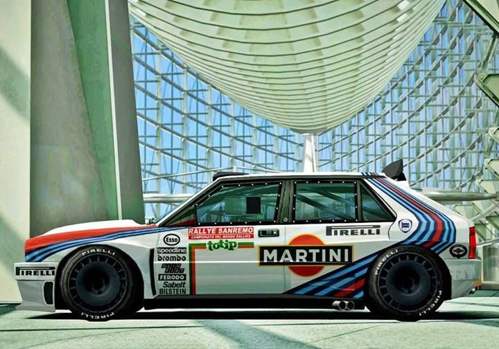 Lancia Delta Integrals - Martini Racing livery #GotRacing? Get #RacingFriday with #Rvinyl at blog.rvinyl.com