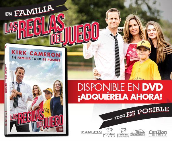 #LasReglasDelJuego #DVD #BeisBol Nueva película de Kirk Cameron. #Divertida #Familia ➜ http://canzion.com/es/noticias/610-las-reglas-del-juego-nuevo-filme-de-kirk-cameron
