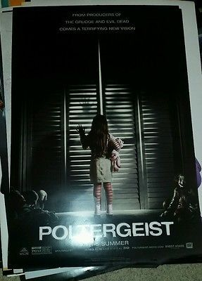 Poltergeist 2015 DS Double Sided Promo Movie Theater Poster   27 x 40 P17