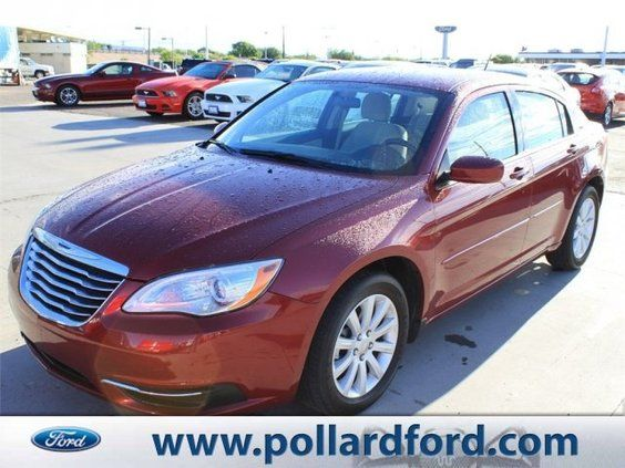 2014 chrysler 200 touring fwd at pollard friendly ford in. Black Bedroom Furniture Sets. Home Design Ideas