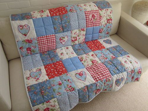 89 best Shabby Quilts images on Pinterest | Beautiful, Facts and ... : shabby chic patchwork quilts - Adamdwight.com