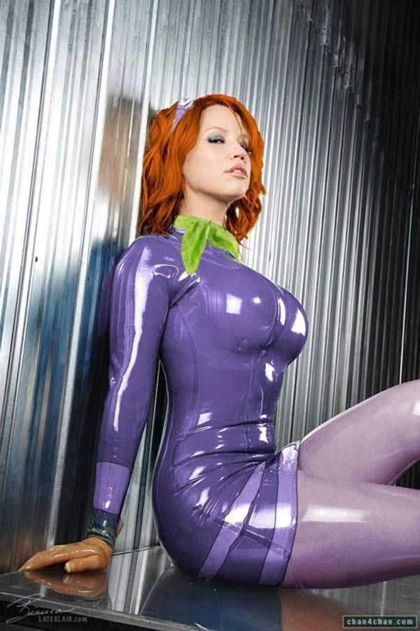 Latex Daphne from Scooby-Doo!