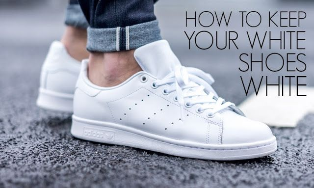 What Every Woman Needs: How to keep your white shoes white