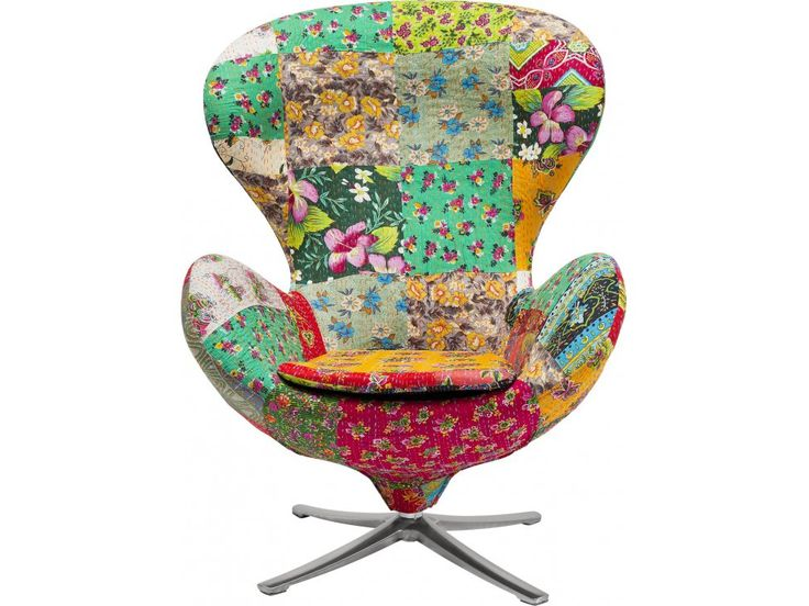 Fotel Obrotowy Flower Surprise — Fotele Kare Design — sfmeble.pl