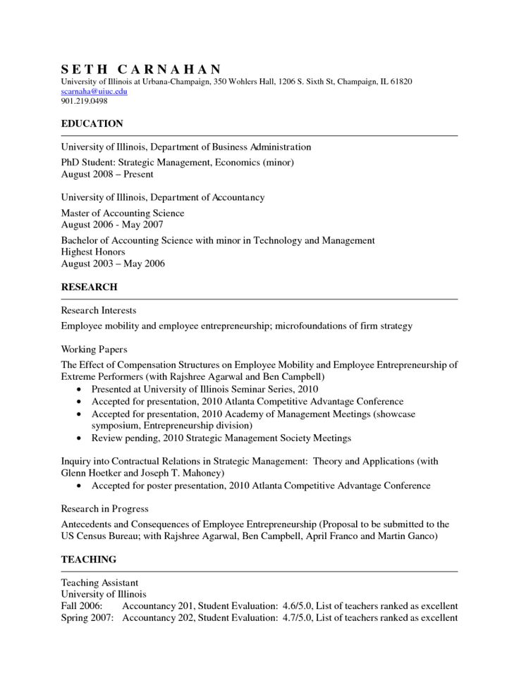 19 best resume cv images on pinterest resume cv resume template example of academic - Academic Resume Or Cv