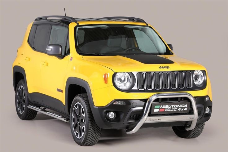 MEDIUM BAR INOX Ø 63 JEEP RENEGADE TRAILHAWK 2014+
