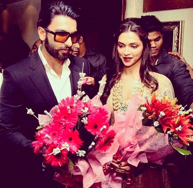 They are so Cute together - Deepika Padukone & Ranveer Singh