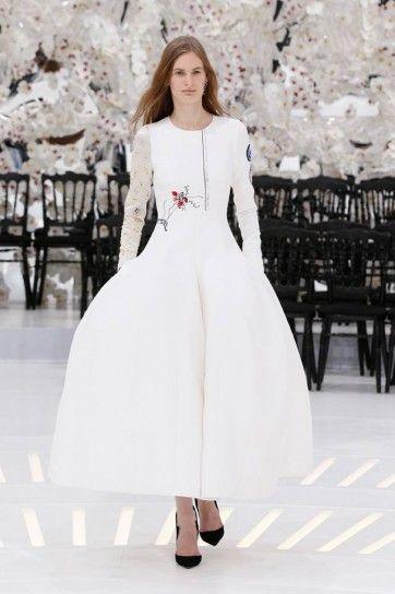 Abito bianco Christian Dior