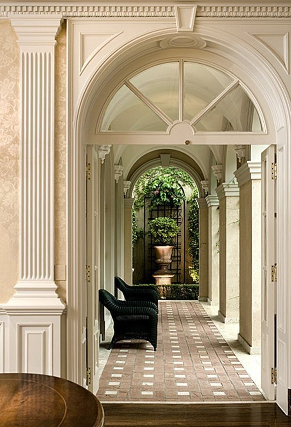 38 Homes That Turned Their Front Lawns Into Beautiful: Entryway & Foyer Images On Pinterest