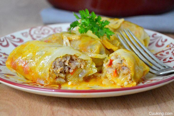 Cuuking!: Sarmale o rollitos de carne con repollo. Receta típica rumana