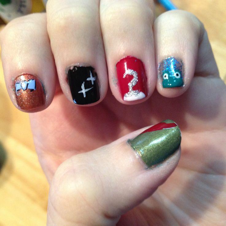 Peter Pan Nails: Peter Pan Inspired Nail Art