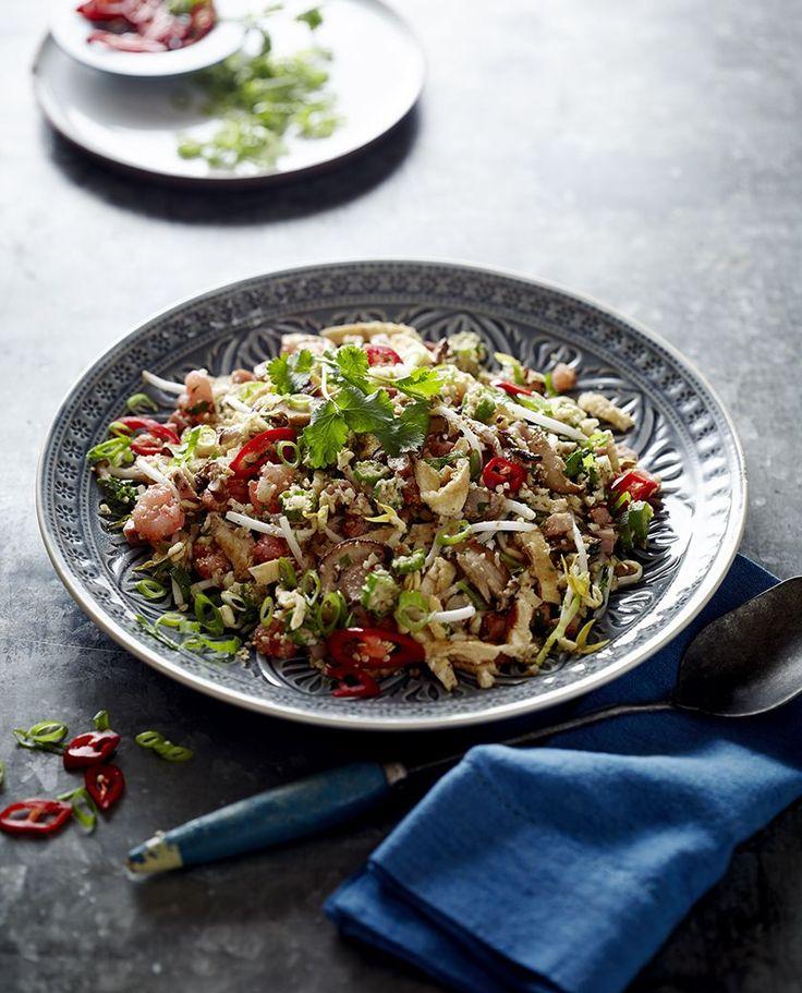 Cauliflower Fried Rice - Pete Evans #paleo #recipe