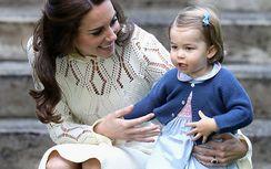 シャーロット王女、兄ジョージ王子のカーディガンを継承!?