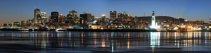 Montréal, Ligne D'Horizon, Ville