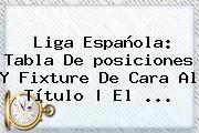 http://tecnoautos.com/wp-content/uploads/imagenes/tendencias/thumbs/liga-espanola-tabla-de-posiciones-y-fixture-de-cara-al-titulo-el.jpg Liga Bbva 2016. Liga Española: tabla de posiciones y fixture de cara al título | El ..., Enlaces, Imágenes, Videos y Tweets - http://tecnoautos.com/actualidad/liga-bbva-2016-liga-espanola-tabla-de-posiciones-y-fixture-de-cara-al-titulo-el/