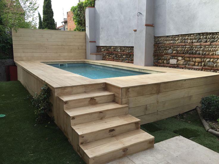 Les 640 meilleures images du tableau piscine sur pinterest for Piscine hors sol avec nage contre courant