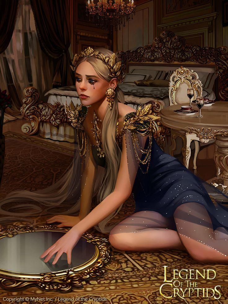 ArtStation - Vengeful mirror princess_reg, Svetlana Tigai