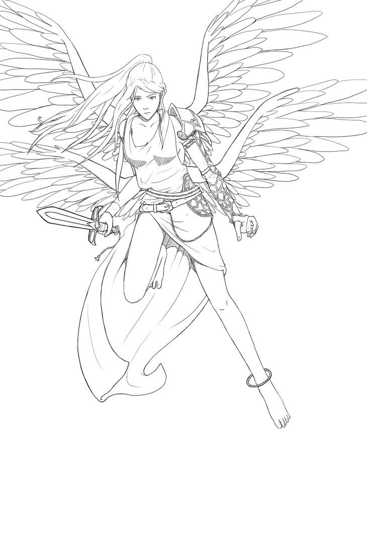 428 best lineart angels images on pinterest colouring pages