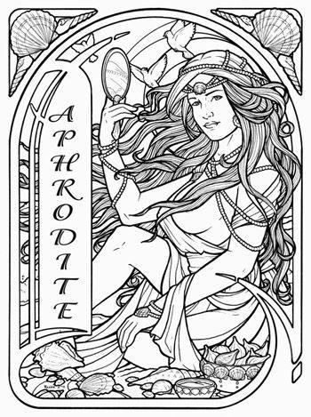 87 besten coloriage mythologie Bilder auf Pinterest | Malbücher ...