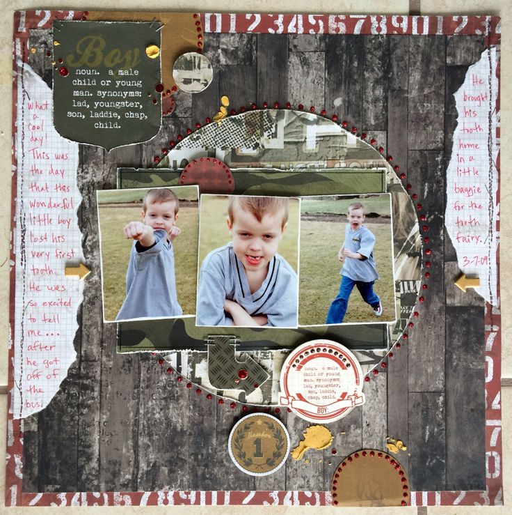 Boy - Kaisercraft - Attitude! Collection http://www.scrapbook.com/gallery/image/layout/5301815.html#y1FFQ6pX6YCEWBDf.99