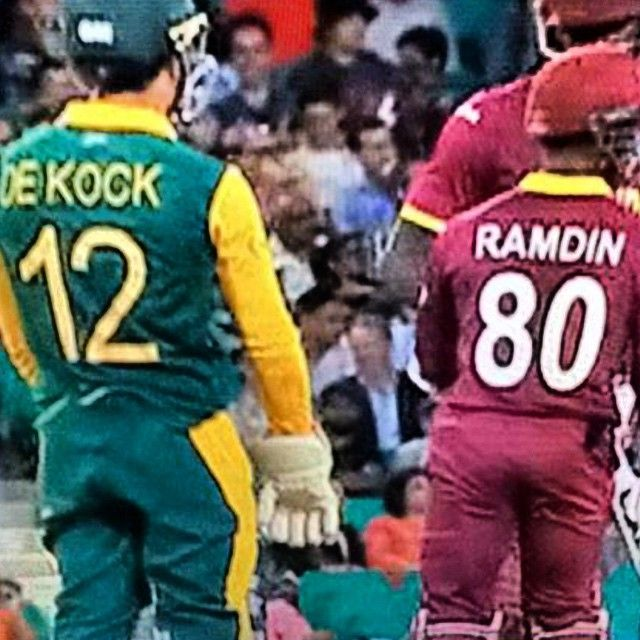 Cricketer's names at it's best.