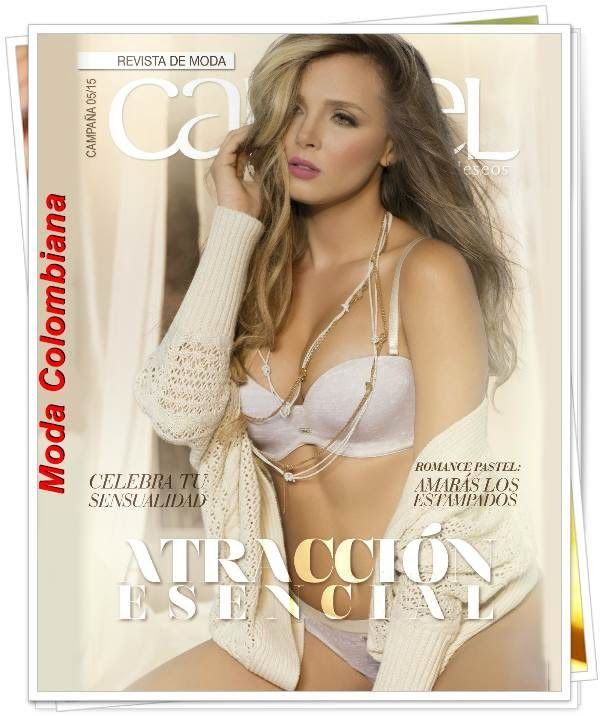 Catalogo Carmel Campaña 5 2015. Looks colombianos de moda para mujer