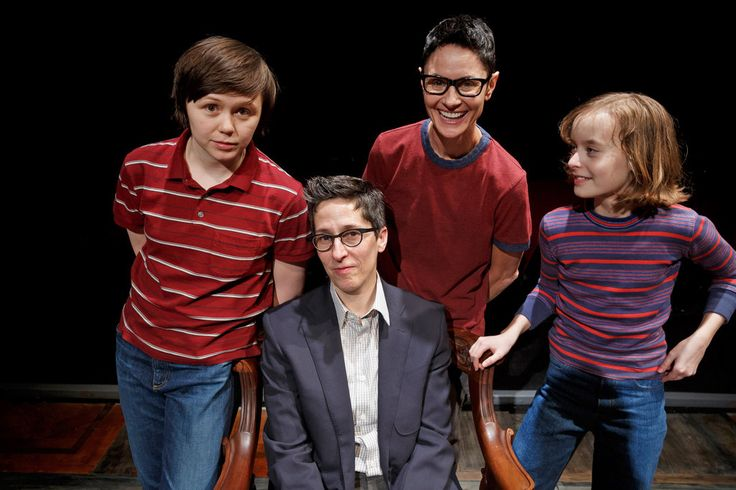 """Alison Bechdel — creator of the graphic-novel memoir that's the basis of the musical """"Fun Home"""" — watches as the production moves from Off Broadway to Broadway."""