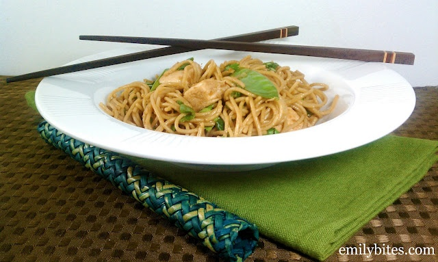 Spicy Sesame Noodles with Chicken-Weight Watchers Recipe