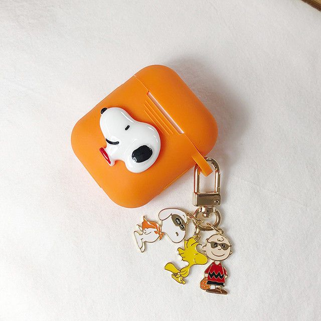 a56972ffb345 Snoopy Charlie Brown Woodstock Key Rings Chain For AirPods Car Phone Bag  Charm  fashion  clothing  shoes  accessories  unisexclothingshoesaccs ...