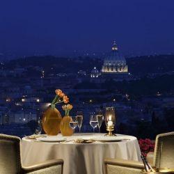 La Pergola restaurant at the Rome Cavalieri hotel