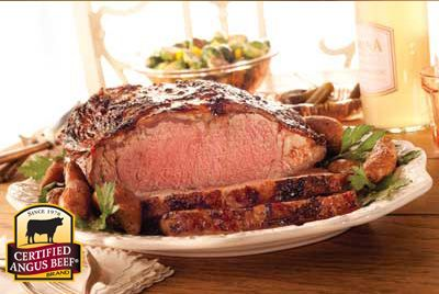 #ChristmasDinner New York Strip Roast: Taste the difference. There's Angus. Then there's the Certified Angus Beef ® brand.