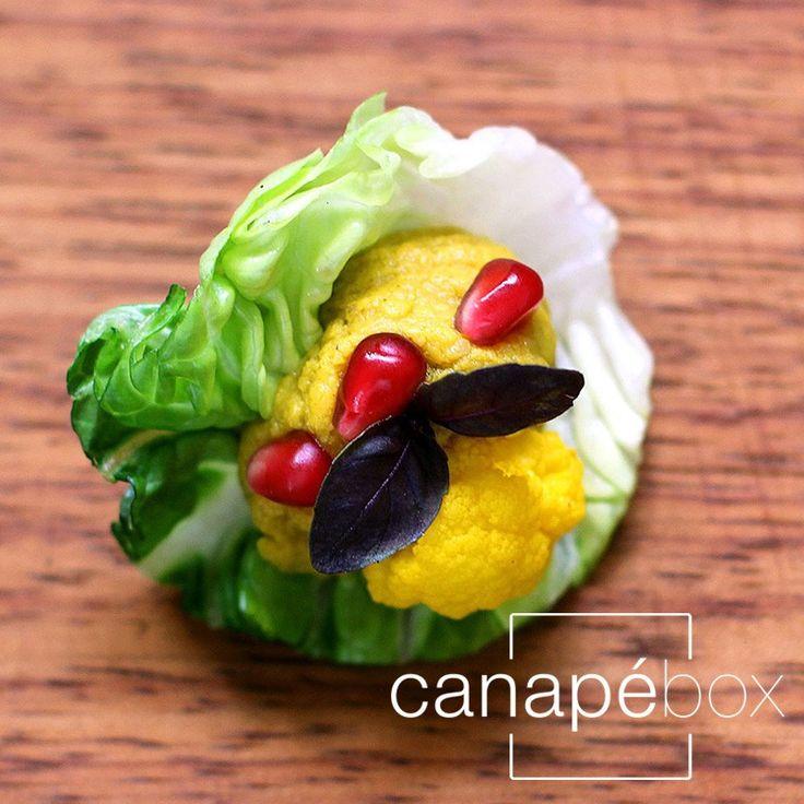 This has great antioxidants!  Gluten-Free-Canape-Catering-London-Cauliflower-Hummus-Baby-Gem