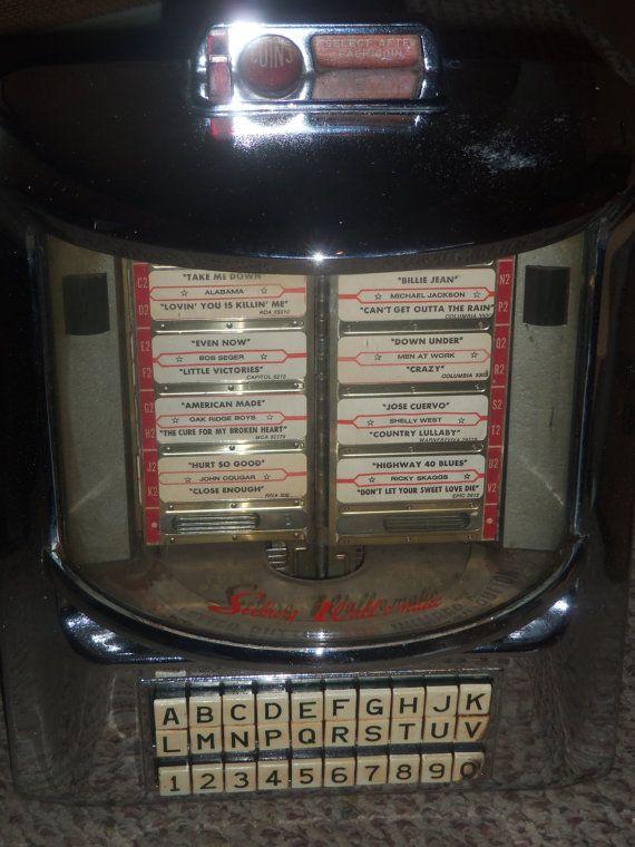 Vintage Diner SEEBURG WALL O MATIC Wallbox by PastsPresents, $239.99