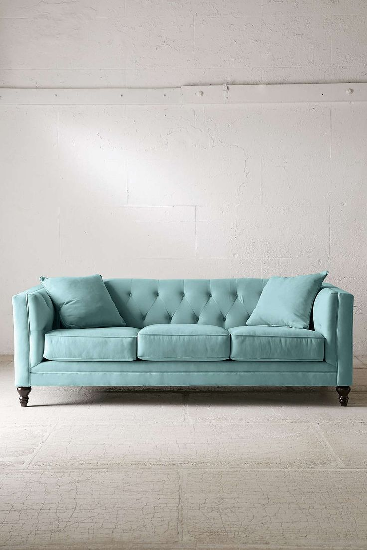 "Graham Microfiber Sofa - Urban Outfitters 89"" $1298 +$100 off"