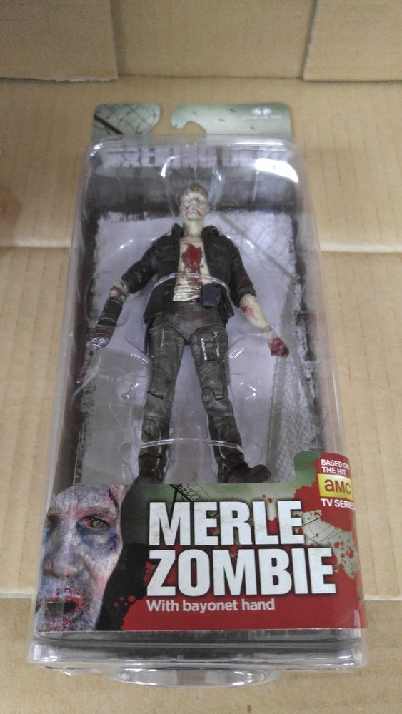 McFarlane The Walking Dead Series 5 Merle Zombie Action Figure #McFarlaneToys