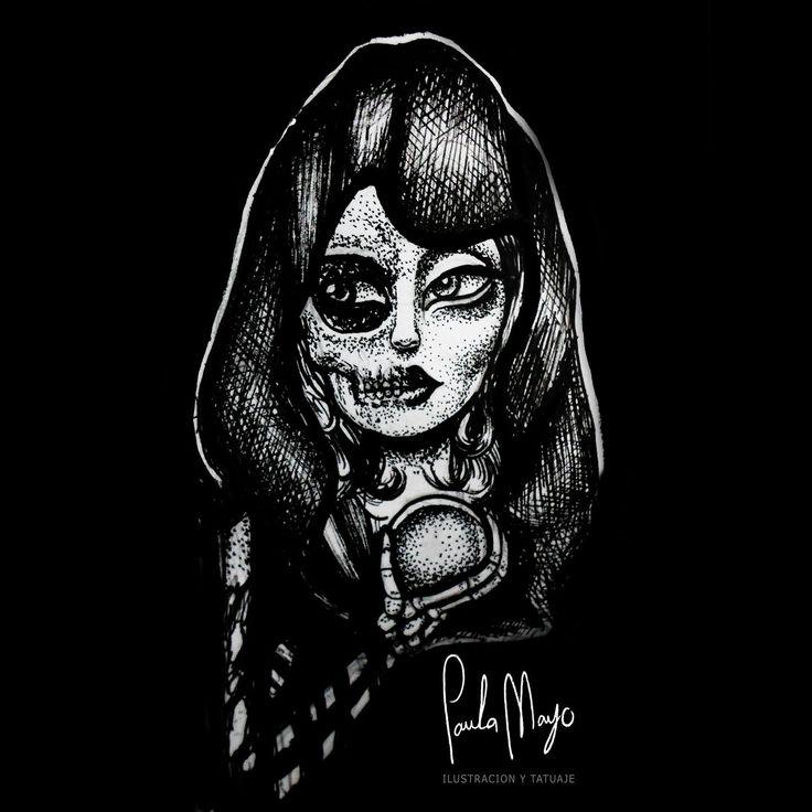 #paulamayo #paulamayoart #art #artecolombiano #colombiartist #girl  #gothicart https://www.instagram.com/paulamayoart/
