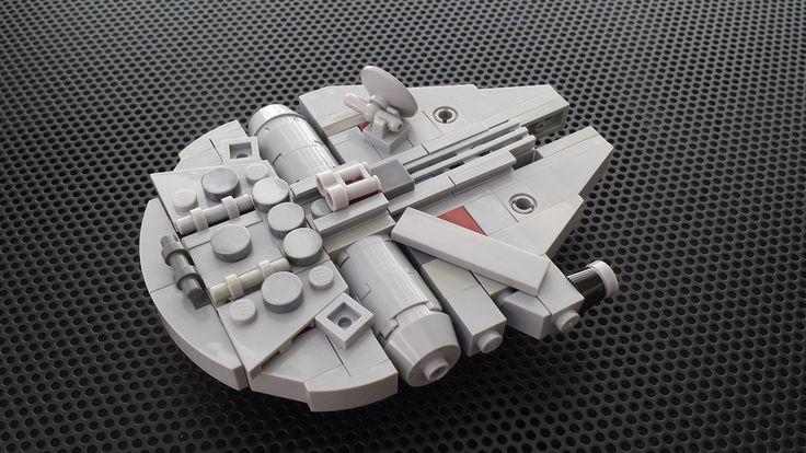 LEGO Mini Meta Millennium Falcon | MINI: This is 10.5 cm lon… | Flickr