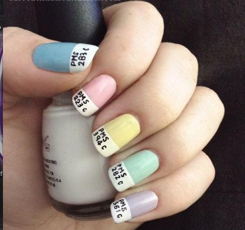 Geek Nails - 17 Best Nerd Nails Images On Pinterest Makeup, Make Up And Nail Art